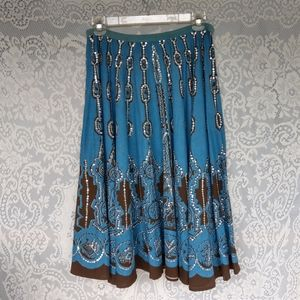 Sweet by Miss Me Rodeo Skirt Size M